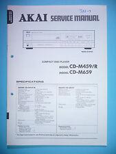 Service Manual-instrucciones para Akai cd-m459/cd-m659, original