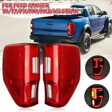LED Rear Tail Light Brake Lamp Assembly For Ford Ranger Raptor T6 T7 MK2 12-2019
