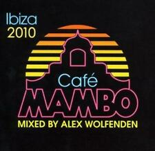 CAFE MAMBO IBIZA 2010 Mixed By ALEX WOLFENDEN 3CDs (New & Sealed) Chillout House