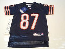 CHICAGO BEARS MUHSIN MUHAMMAD AUTHENTIC REEBOK ON FIELD JERSEY YOUTH SIZE S NWT