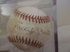 Mickey Mantle Yankees Autographed Official American League Baseball JSA