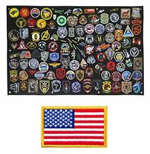 Tactical Patch Display Panel Holder Board for Military Army Combat Morale Unifor