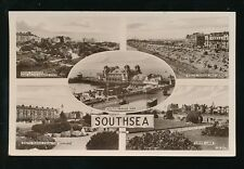 Hampshire SOUTHSEA  m/view used 1935 RP PPC local pub Mills & Co