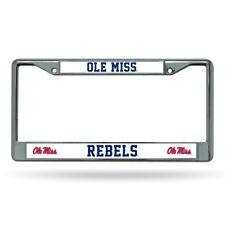 Mississippi Ole Miss Rebels Chrome Auto License Plate Frame CAR TRUCK