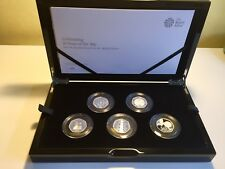 Celebrating 50 Years of the 50p 2019 Silver Proof Set Kew Gardens #426/1969