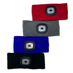Head Band with Built In 4 SMD Light - Walking - Camping- Running 3 Brightness