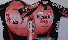 LOTTO PREDICTOR TEAM CYCLING JERSEY SMALL NEW   FREE DAVITAMON LOTTO SKULL  CAP ! 80a7f5aa7