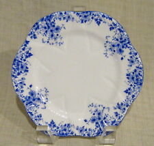 "Shelley Dainty Blue 6"" Bread Plate"