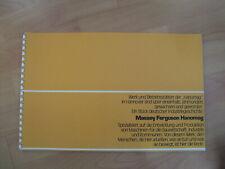 Massey Ferguson Hanomag Werk und Betriebsstätten Hannover