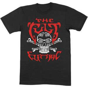 The Cult Electric Shirt S-XXL Official Rock Band T-Shirt