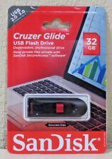 Sandisk Cruzer Glide 32GB USB Flash Drive Sdcz60-32g-a46c NEW