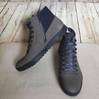 Kenneth Cole Reaction Men's Designer Shoes Size 11M Lace-Up Dark Taupe