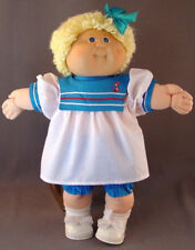 "SAILOR DRESS with Hat & Bloomers - Old Store Stock - fits many 16-20"" Baby Dolls"