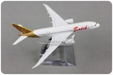 Solid Batik DREAM LINER BOEING 787 Passenger Airplane Plane Diecast Model