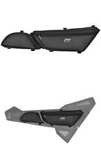 PRP Black Carbon Fiber Vinyl Stock Door Bag PAIR Arctic Cat Wildcat Trail Sport