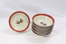 "Royal Seasons Xmas Snowman Soup Cereal Bowls 7"" Set of 15"