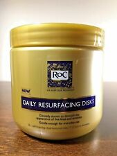 RoC Daily Resurfacing Disks 28 Count *** Skin-Conditioning Cleanser ***