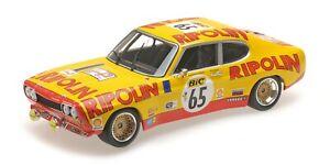 Ford Capri RS2600 Tour de France (Auto) 1972, Minichamps 155728565 1/18th