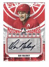 2012-13 ITG MOTOWN MADNESS Dan Maloney AUTOGRAPH CARD SIGNED