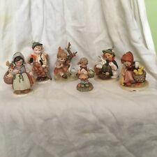 5 Hummel Goebel Friedel Wales Mixed figurines Statues W. Germany Japan Set