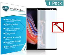 Slabo PREMIUM Panzerglasfolie Samsung Galaxy Note 9 FULL COVER Tempered SCHWARZ