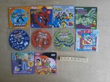 SCOOBY-DOO, FOX KIDS, POLLY POCKET ETC 10 CHILDRENS ANIMATED PROMO DVDS