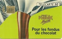 RARE / CARTE TELEPHONIQUE - MENIER : TABLETTE CHOCOLAT PRET A FONDRE / PHONECARD