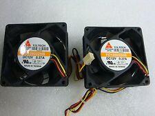 2pcs Y.S.TECH 80*80*32MM FD128032HB 12V 0.37A  8CM Square Cooling Fan 3 Pin