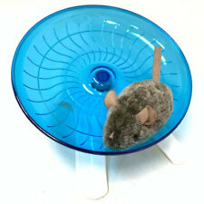 Hamster Flying Saucer Running & Spinning Exercise Wheel Degu Gerbils Rats & Mice