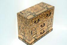 Wood handmade Chest of 4 drawers Decpupage keepsake