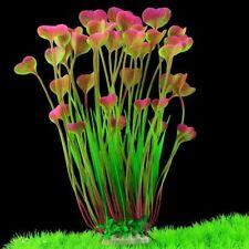 Butterfly Shape Plastic Artificial Plant Aquarium Decor Fish Tank Grass Ornament