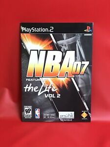 NBA 07 Featuring The Life Vol 2 Demo Disc (2005 Sony PS2 Playstation 2) NEW RARE