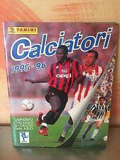 ALBUM FIGURINE PANINI CALCIATORI 1995/96,  COMPLETO