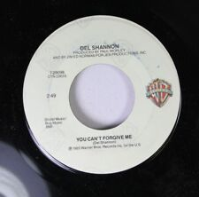 Rock 45 Del Shanon - You Can'T Forgive Me / In My Arms Again On Wb (Warner Bros.