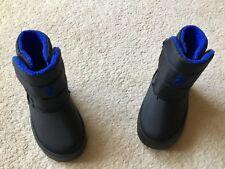 RALPH LAUREN POLO BOYS SNOW BOOTS BNWT UK KIDS 3.5