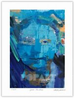 "Greta Thunberg Pop Art Giclée Limited Edition Print 18x24"" by Stephen Chambers"