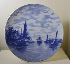 "Antique VILLEROY & BOCH  Wall Plate  c1894-1909   11.9"""