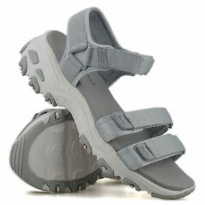 Womens Skechers Memory Foam New Casual Summer Walking Sports Sandals Shoes Size