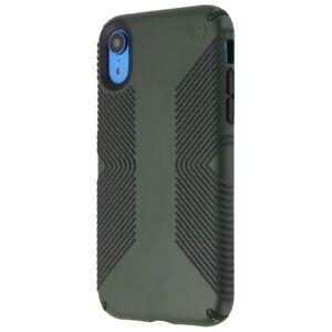 Speck Presidio Grip Series Case for Apple iPhone XR - Dusty Green / Black