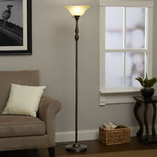 "Classic Torchiere Lamp 70"" Floor Lamps 3-way Switch CFL Bulb Included Bronze"