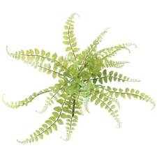 FAUX BUTTON FERN NATURAL GREEN FLOWERS FARMHOUSE DECOR FLORAL SPRING EASTER