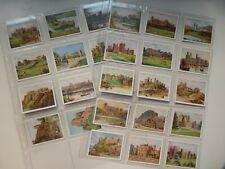 More details for wills cards full set 25 british castles 1925 original