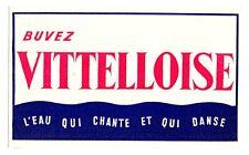 Buvard publicitaire Vittelloise