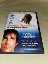 Eternal Sunshine of the Spotless Mind Dvd Full Screen Jim Carrey Kate Winslet