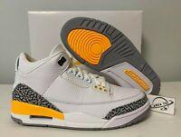 2020 Nike Air Jordan 3 Retro Laser Orange Cement CK9246-108
