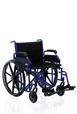 Sedia a rotelle bariatrica extra larga - Carrozzina pieghevole per disabili