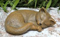 Steinfigur Katze Mieze Tierfigur Dekofigur Skulptur Gartenfigur Gartendeko