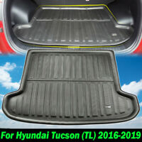 For Hyundai Tucson TL 2016-2019 Boot Cargo Liner Trunk Floor Mat Tray Carpet