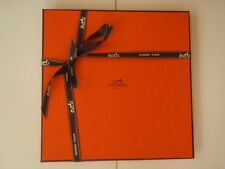 Hermes scarf box with ribbon and tissue, Empty, gift quality