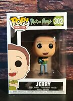 Funko Pop! Animation: Rick and Morty Jerry #302 Collectible Brand NEW